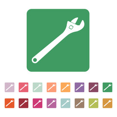 The adjustable wrench icon