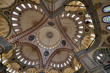 Fatih Mosque photo inside the dome