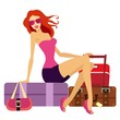 woman going on holiday