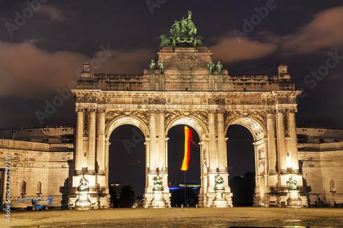 Fototapeta Triumphal Arch in Brussels