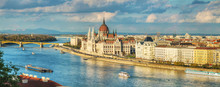 "Постер, картина, фотообои ""Panoramic overview of Budapest"""
