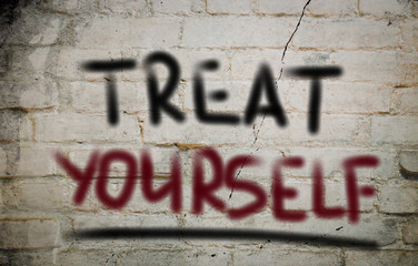 Treat Yourself Concept