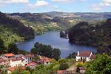 Höhenblick im Alto Douro Portugal