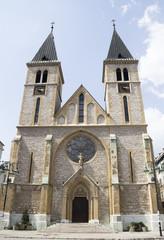 Catholic Cathedral in Sarajevo