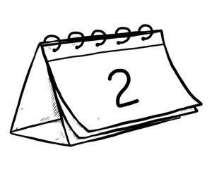 second date calendar
