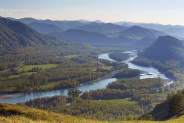 Katun River Valley