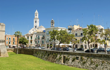 Bari. View of the old town