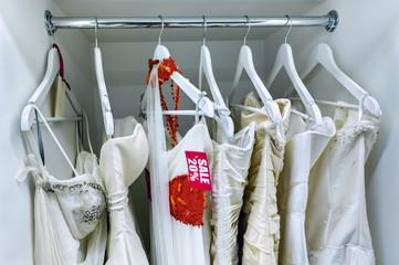 Wedding dresses at a discount
