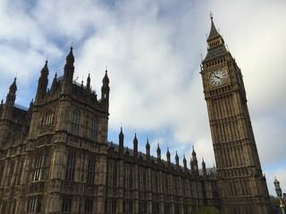 Il Big Ben, parlamento inglese, Londra