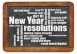 Zdjęcia na płótnie, fototapety, obrazy : New Year goals or resolutions
