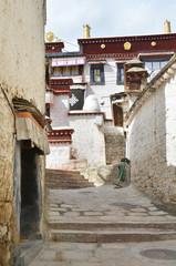 Тибет, монастырь 15 века Сера в окрестностях Лхасы около