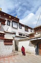 Тибет, буддистский монастырь 15 века Сера в окрестностях Лхасы