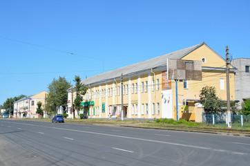 Улица Спартака в Твери