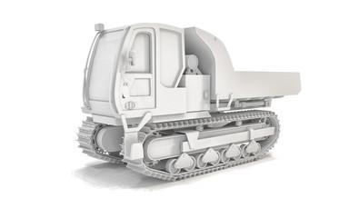 Crawler Type Vehicle - Shot 2