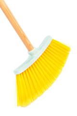 modern yellow brush the floor