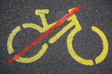 Cycling not allowed