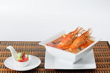 Thai popular food, TOM-YUM-KUNG