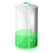 Ikona niskiego poziomu naładowania baterii - 75316405