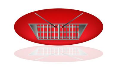 Shop basket icon