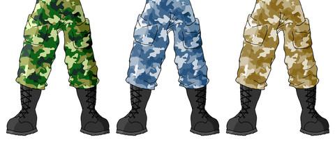 Soldier legs