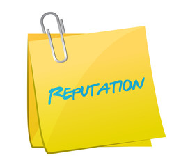 reputation memo post illustration