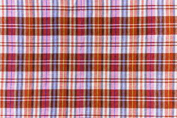 Colorful scott fabric