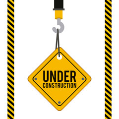 Construction design,vector illustration.