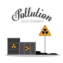 Pollution design,vector illustration.