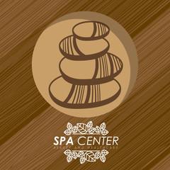 Spa design, vector illustration.