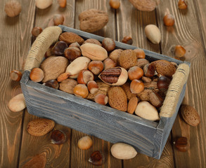 Nuts in a box