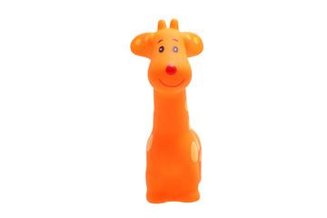 Toy giraffe.