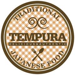 tempura label