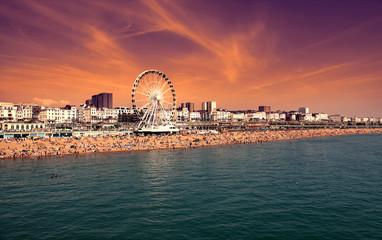 The towering Brighton Wheel ,England UK