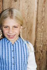 Mädchen Lächeln, Portrait