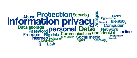 Word Cloud - Information privacy