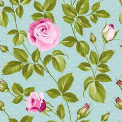 Roses pattern.