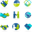 Collection of Handshake icons