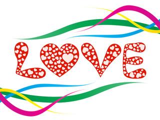 Romantic Love design