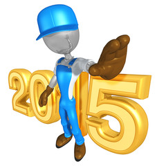 Worker With The Year