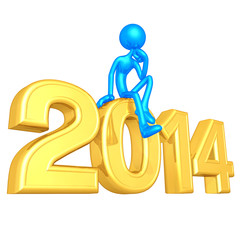 Thinker On The Year