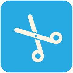 Pair of scissors icon