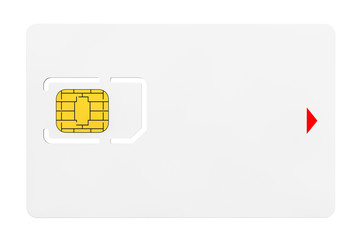 Blank Sim Card with chip