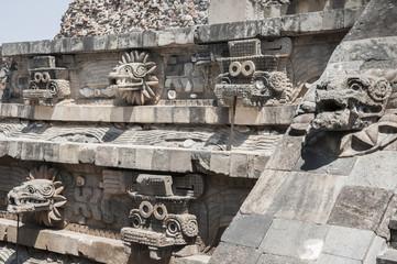 Temple of Quetzalcoatl, Teotihuacan (Mexico)