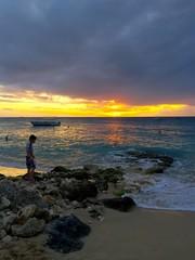 sunset at Sandy Lane, Barbados