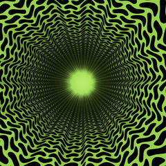 Kaleidoscope geometric pattern