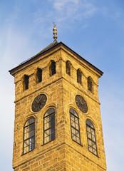 Watch tower in Sarajevo