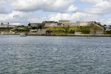 Royal Citadel and light house, Plymouth