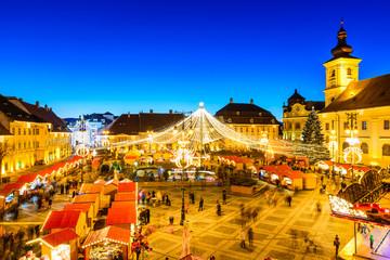 Sibiu Christmas Market, Romania