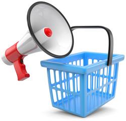 Einkaufskorb Aktion