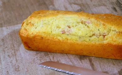 """cake salé gâteau  pour apéritif""""fait maison"""""""